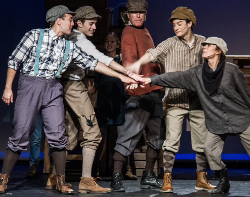 'Tom Sawyer detectiu' és un espectacle de teatre musical. (Foto: lagorga.cat).
