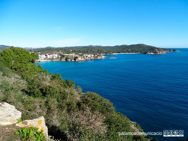Un dels permisos tombats afectaven espais del litoral de la Costa Brava central.