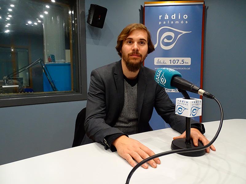 Salvi Bofill, entrenador de la Unió Bàsquet Palamós, al programa 'Temps afegit'.