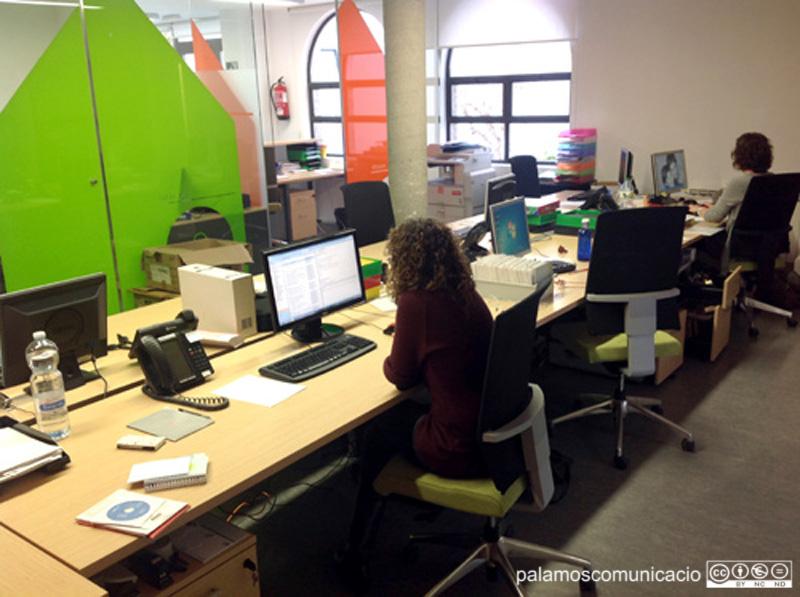 Oficines de l'Àrea d'Acció Social i Ciutadania.