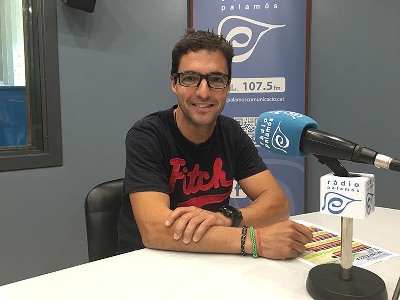 Oriol Borràs, president del Club Alpí Palamós