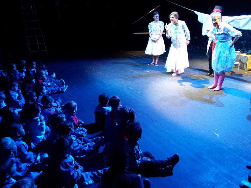 Foto de la representació de l'espectacle