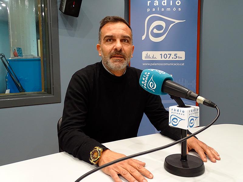 El regidor de Ciutadans a l'Ajuntament de Palamós, Cristóbal Posadas.