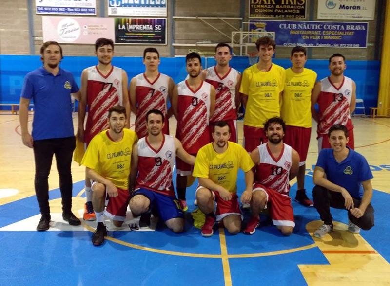 L'equip de la Unió Bàsquet Palamós. (Foto: UB Palamós).