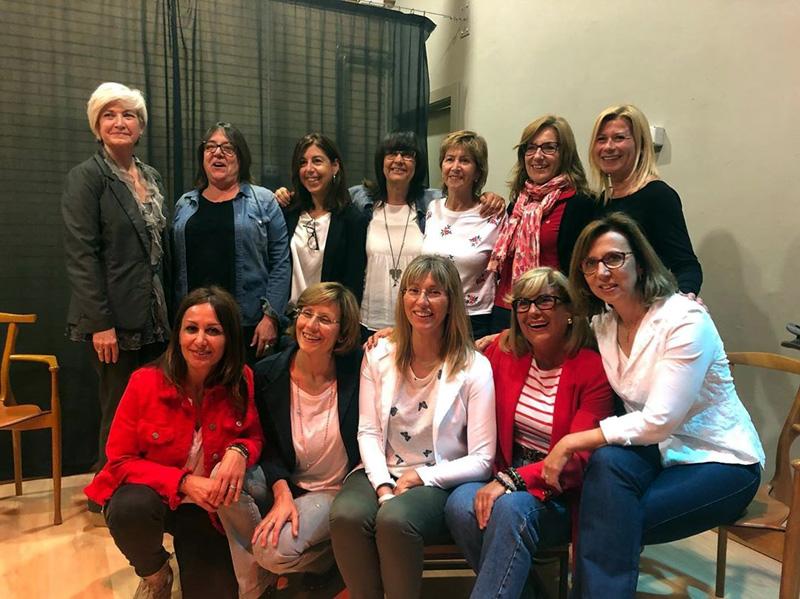 Membres de l'Associació Dones de Palamós, en una de les activitats que programen. (Foto: Associació Dones de Palamós).