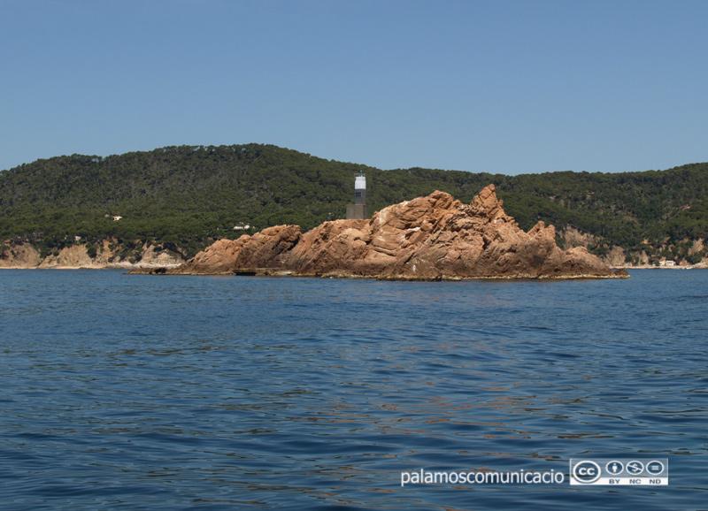 Un aspecte de les illes Formigues, a cavall entre els litorals de Palamós i Palafrugell.
