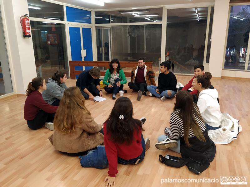 Sessió participativa ahir a l'Espai Jove de les Galeries Carme.