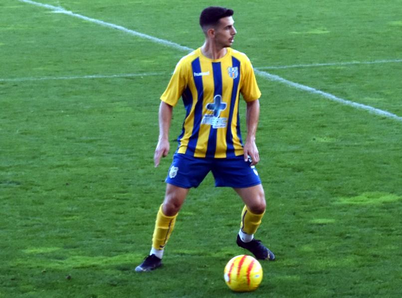 Sergio González, en un partit amb el Palamós CF. (Foto: S. Cortés fanspalamoscf.com).