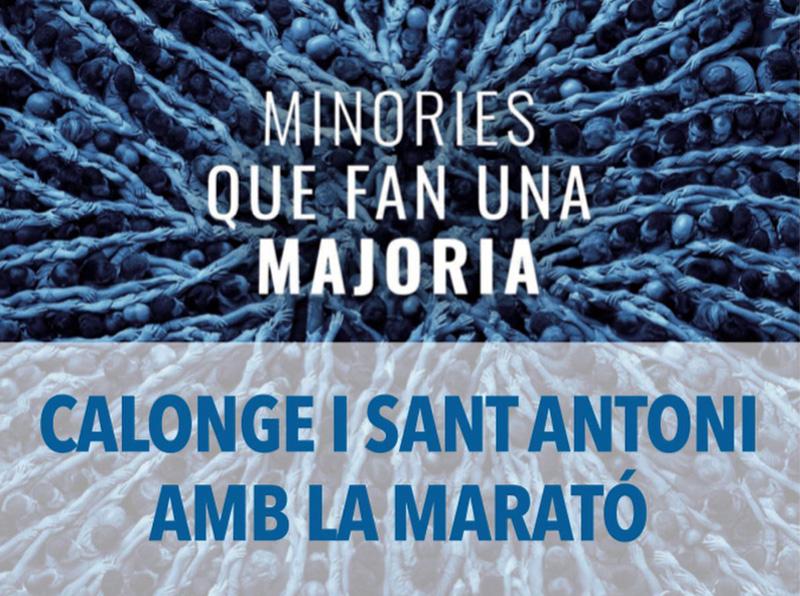 Aquesta setmana es fan moltes activitats a Calonge i Sant Antoni per a la Marató de TV3.