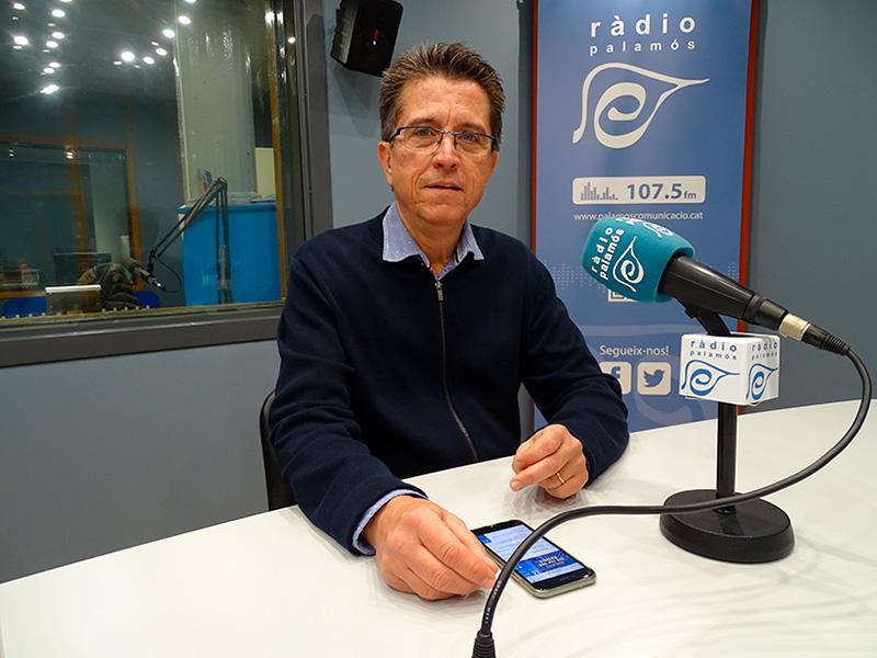 El doctor Joan Manel Torres, cap de pediatria de l'hospital, ha parlat de l'acte de SSIBE per la Marató de TV3.