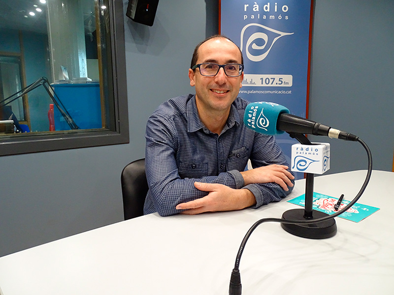 Lluís Puig, alcalde de Palamós.