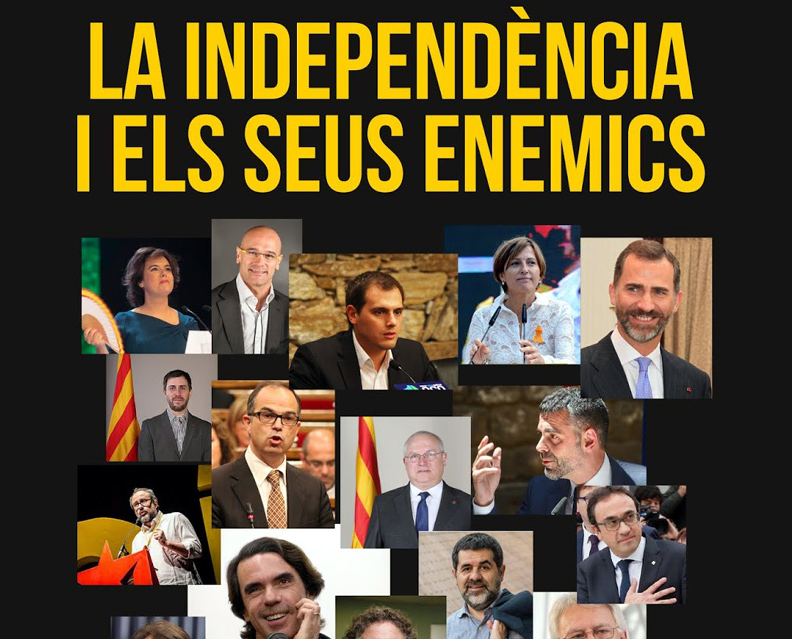 Portada del llibre de Marc Gafarot 'La independència i els seus enemics'.