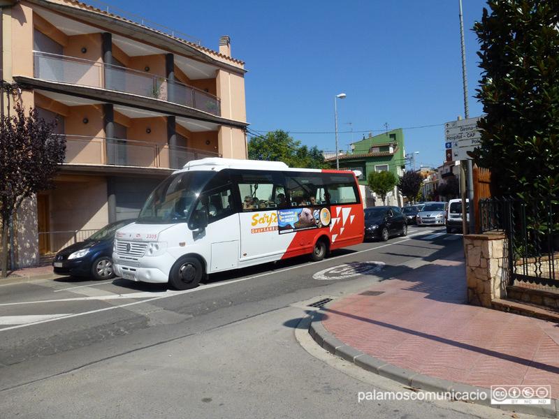 Autobus de la companyia Sarfa, a Palamós.