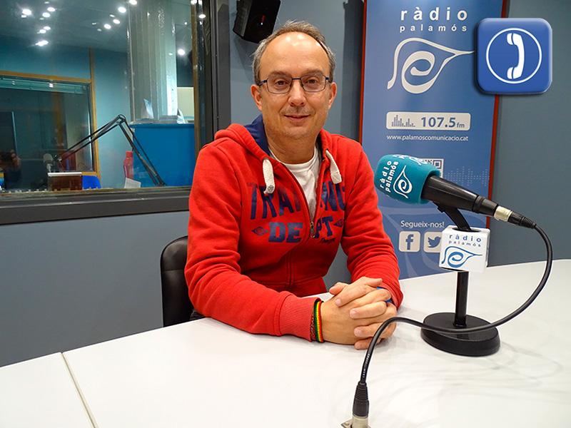 Josep Coll, portaveu del PSC a l'Ajuntament de Palamós.
