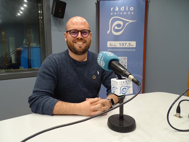 El portaveu municipal de Junts per Catalunya, Raimon Trujillo.