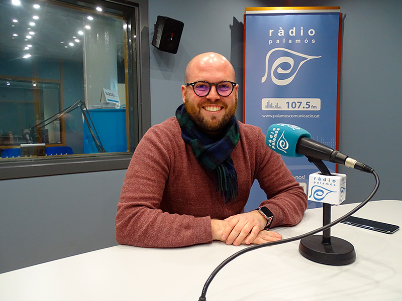 El portaveu de Junts per Catalunya a l'Ajuntament de Palamós, Raimon Trujillo.