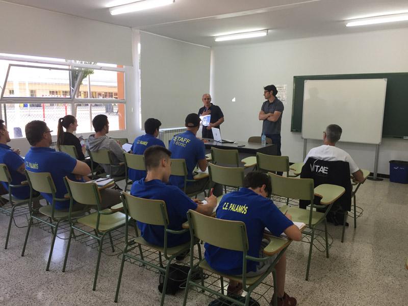 Acte de presentació de les Jornades de Formació Esportiva que es van fer el juny passat. (Foto: Ajuntament de Palamós).