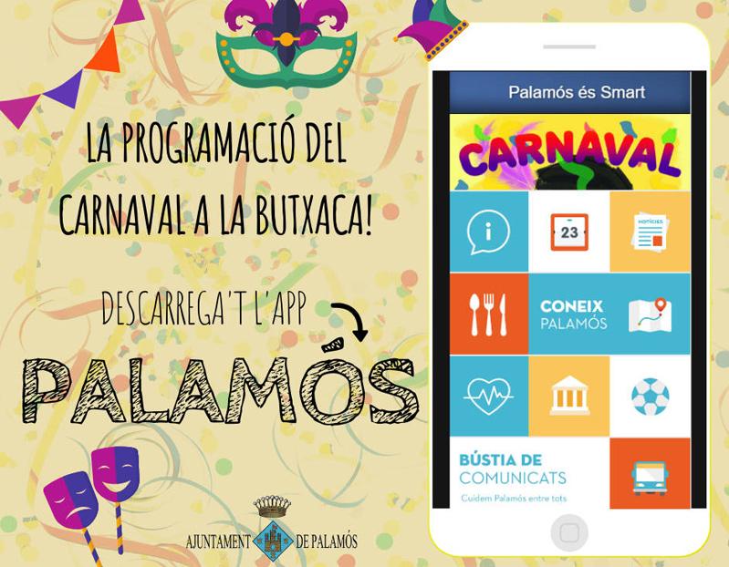 L'app 'Palamós' està disponible per a dispositius Android i iOS.