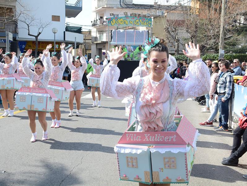 Tot a punt pel Carnaval de Calonge. (Foto: Ajuntament de Calonge i Sant Antoni).