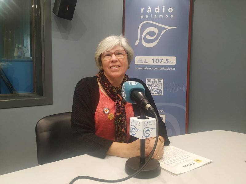 Roser Huete, regidora electa de la CUP, a l'espai 'Preguntes'.
