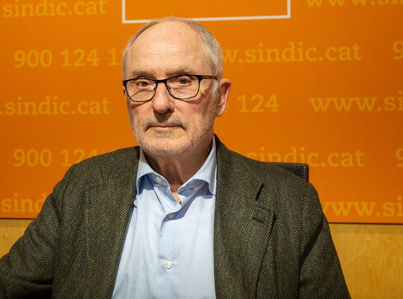 Rafael Ribó, Síndic de Greuges de Catalunya. (Foto: sindic.cat).