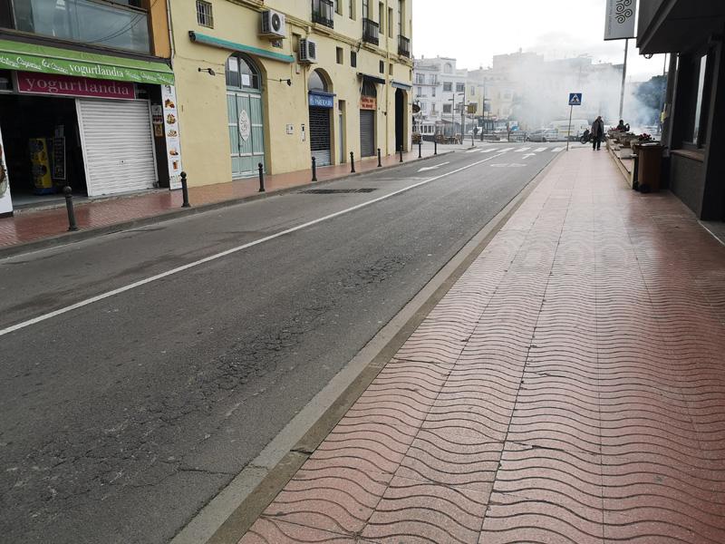 Els treballs afectaran el tram de l'avinguda de l'Onze de Setembre, en la part més pròxima al port. (Foto: Ajuntament de Palamós).
