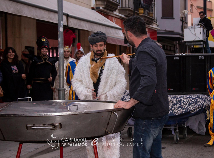 L'arròs anirà a carrec dels Destronats i cuinat per Tomàs Brull, el Rei Tomàs Turbant de l'any passat. (Foto: Joan Carol).