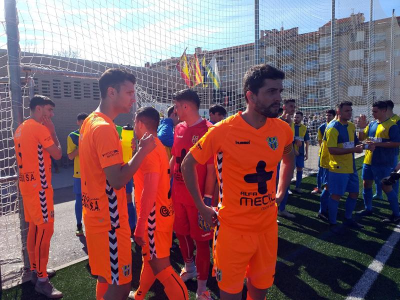 El Palamós, avui de taronja, ha guanyat el seu partit davant del Sabadell Nord (Foto: Sergi Cortés).