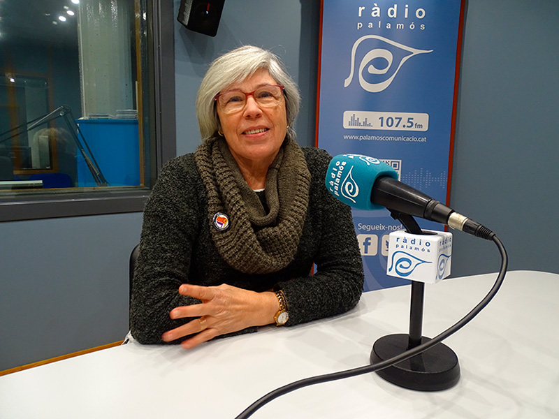 Roser Huete, regidora electa de la CUP, a l'espai 'Preguntes', en una imatge d'arxiu.