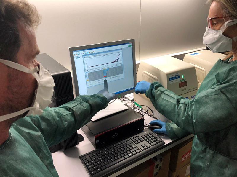 Ja es fan proves de detecció del COVID-19 a la demarcació de Girona.