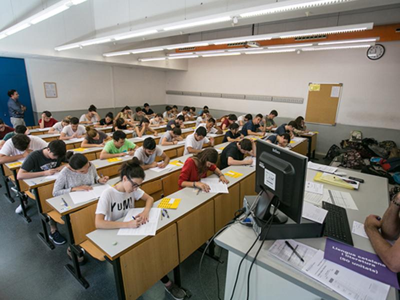 Es posposen les proves d'accés a la universitat. (Foto: ub.edu).