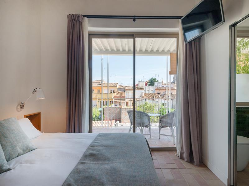 Es posarien a disposició llits destinats a malalts menys greus, o per a personal sanitari. (Foto: Costa Brava Verd Hotels).