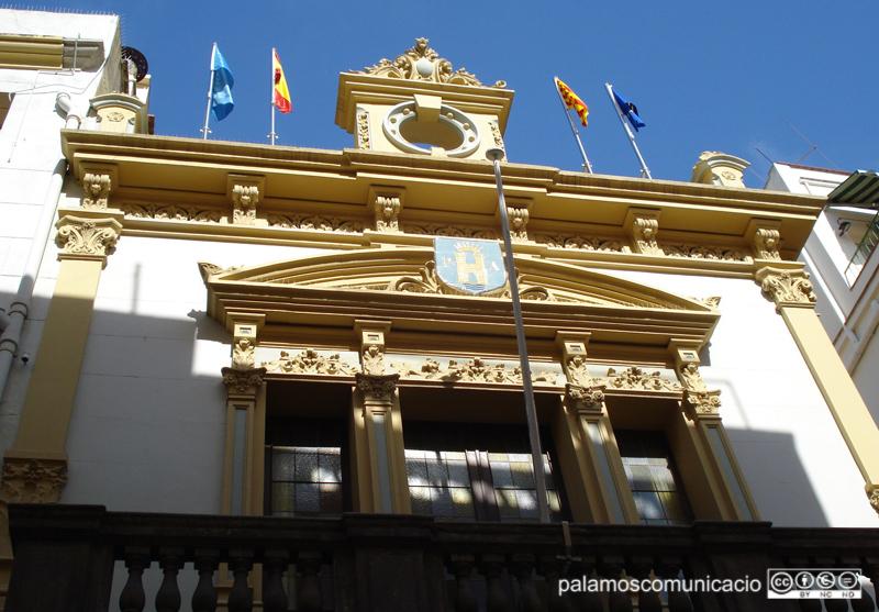 La Casa de la Vila està tancada al públic.