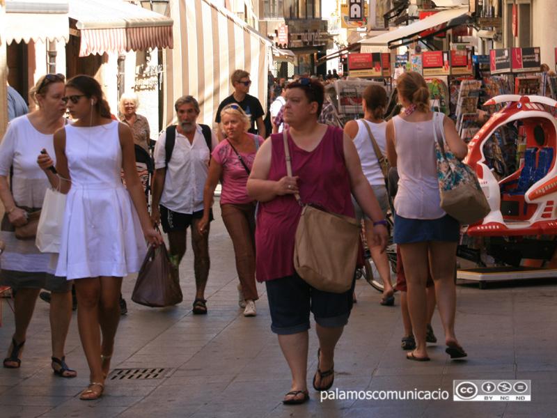 Coll recorda que Palamós té una economia basada en el sector dels serveis i això la pot fer més vulnerable.