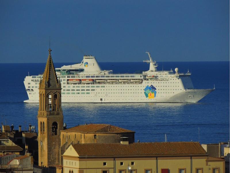 Aquest mes d'abril, el port de Palamós tenia programades quatre escales. (Foto: Anna Pérez).