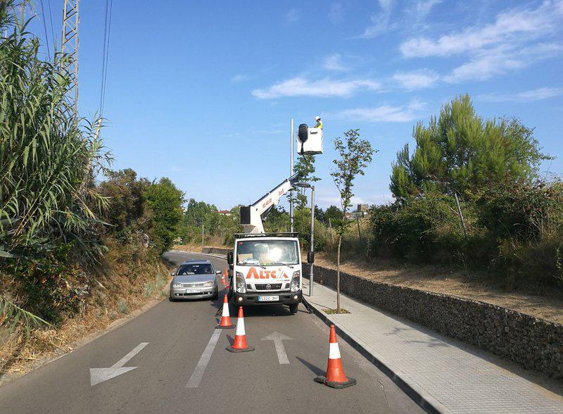 L'equip de lampistes d'urgències treballa establint prioritats d'actuació. (Foto: Ajuntament de Calonge i Sant Antoni).