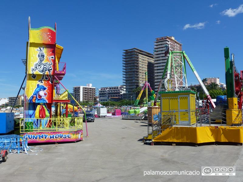 La fira és una de les imatges icòniques de la Festa Major.