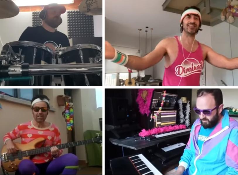 Fragment del videoclip 'No tornaré a casa' de l'Orquestra Di-versiones.