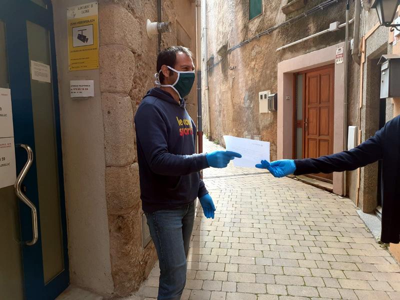 El repartiment dels vals es fa al llarg d'aquesta setmana. (Foto: Ajuntament de Calonge i Sant Antoni).