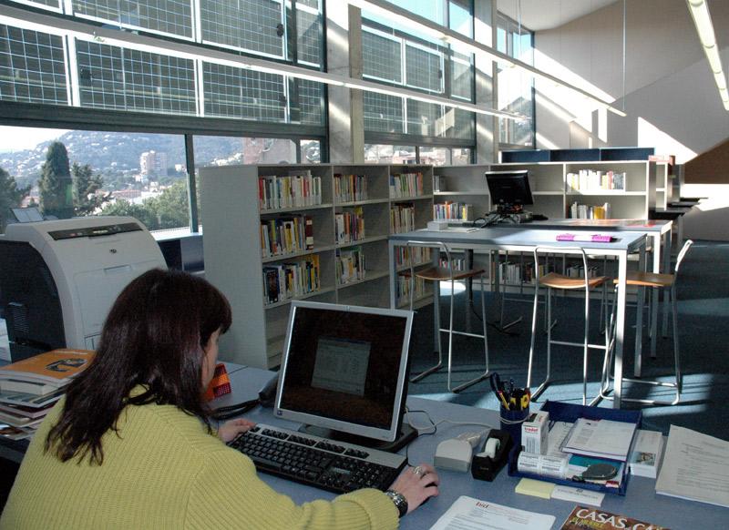 Biblioteca Pere Caner de Calonge.