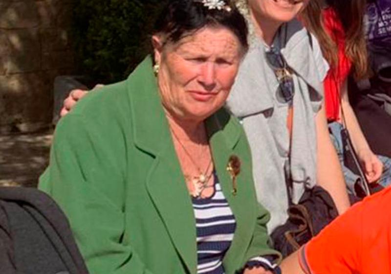 La dona es diu Maria del Carme Ametller, té 72 anys. (Foto: Ajuntament de Calonge i Sant Antoni).