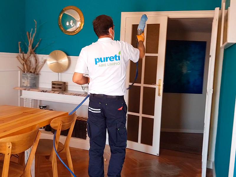 L'apartament turístic 'Family Home Palamós', pioner en aplicar aquest sistema a la zona.