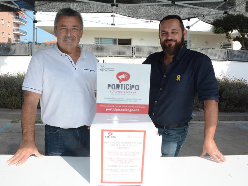 Les jornades participatives estan centrades en el nucli de Sant Antoni i en la urbanització Mas Pallí. (Foto: Ajuntament de Calonge i Sant Antoni).