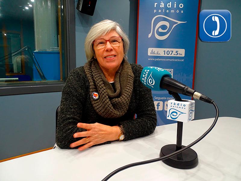Roser Huete, regidora de la CUP Palamós - Vila-romà.