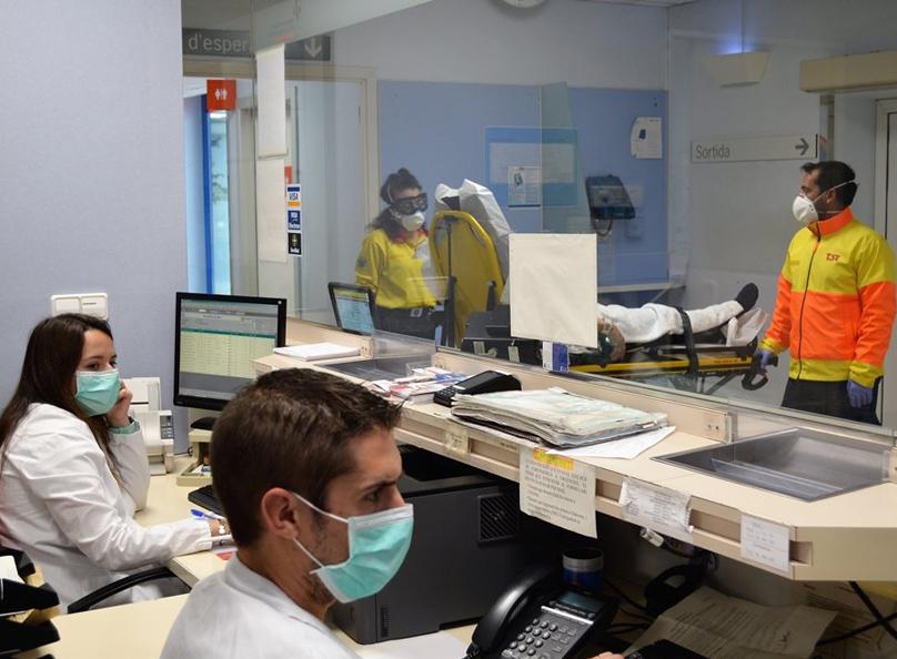 La major part de les altes,116, són de l'hospital de Palamós.
