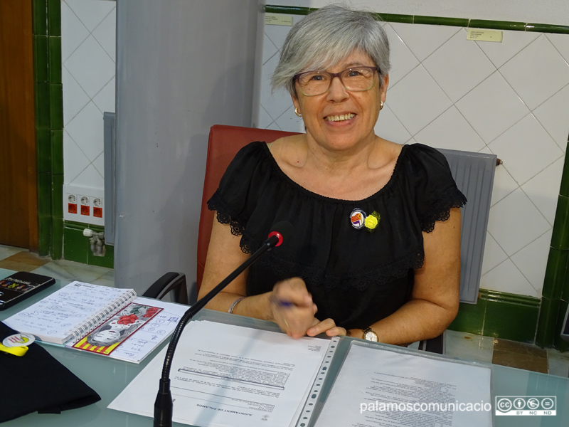 Roser Huete, regidora de la CUP Palamós-Vila-romà.