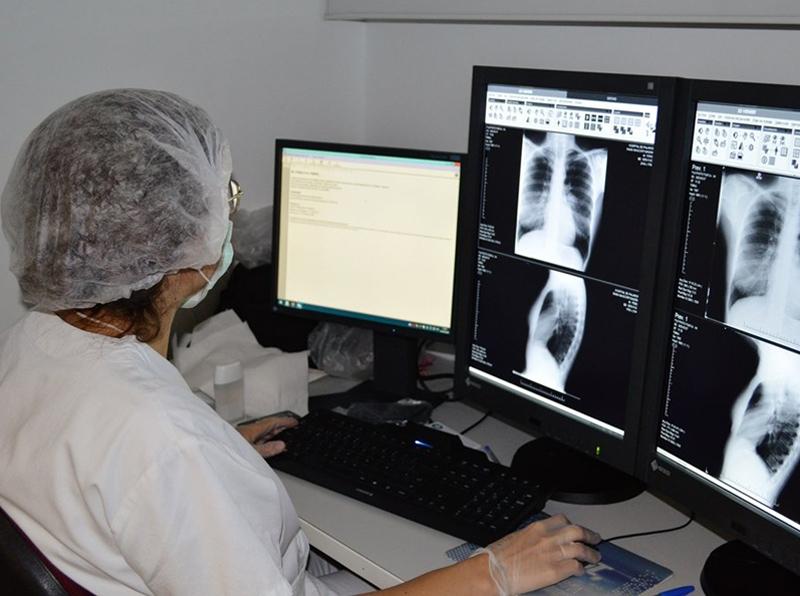 A l'hospital palamosí ara hi ha 12 malalts diagnosticats de COVID-19. (Foto: SSIBE).