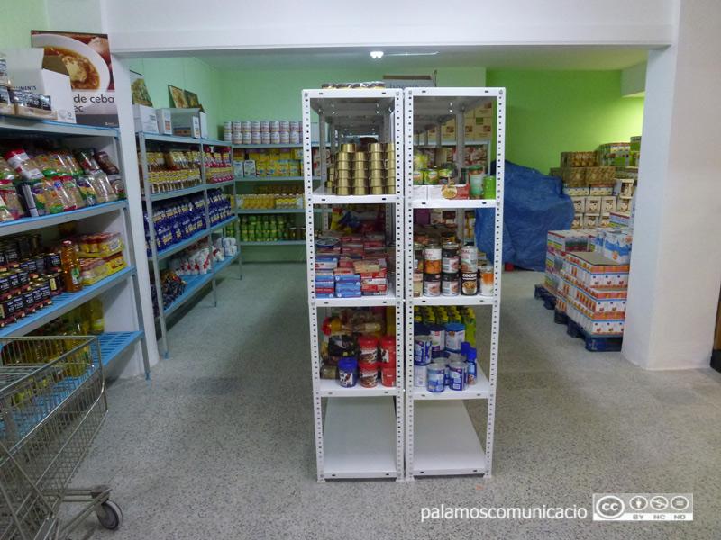 Espai de Distribució d'Aliments Albert Castejón de Palamós.