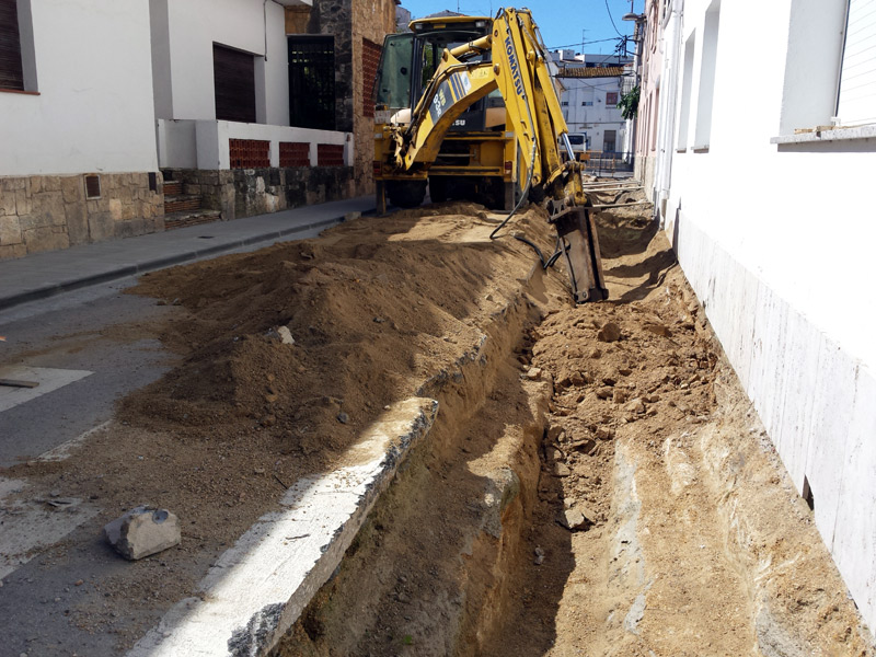 Tram del carrer de Foment, entre Josep Fàbrega i Pou i Salvador Albert i Pey. (Foto: Ajuntament de Palamós).