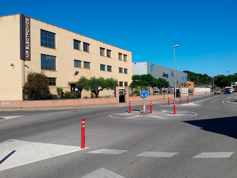 Tram del polígon industrial de Sant Joan que amplia els usos. (Foto: Ajuntament de Palamós).